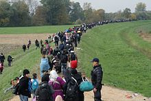Massive Migration Into Europe Has Created A Crisis