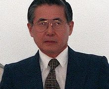 Alberto Fujimori 45th & 47th President of Peru. In office 9 January 1993 – 22 November 2000.