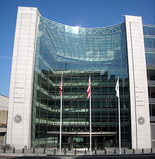 U.S. Securities and Exchange Commission headquarters in Washington, D.C., near Union Station.