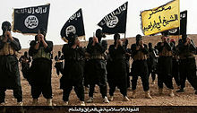 ISIS fighters in Anbar province, Iraq