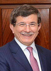 Ahmet Davutoğlu Turkish Prime Minister since August 29, 2014.