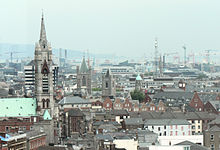 Dublin, capital of Ireland.