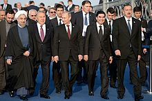 President Nazarbayev attends the Caspian Sea Summit in Astrakhan, Russia, September 29 2014