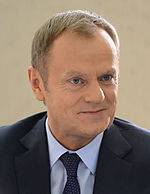 President of the European Council, Donald Tusk from Poland.