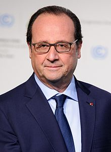 Francois Hollande 24th President of France 2012-