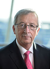 Incumbent President Juncker of the European Commission.