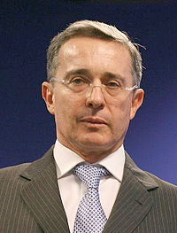 Former President Álvaro Uribe intensified military operations against the FARC-EP, seeking to defeat them.