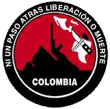 Logo of the ELN in Colombia