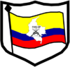 FARC–EP coat of arms: shield, flag, and country