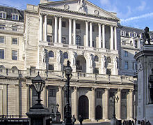 The Bank of England—the central bank of the United Kingdom and the model on which most modern central banks have been based.