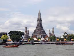 Famous Wat Arun Temple in Bangkok, capital of Thailand.