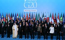 2015 G20 Antalya summit group photo.