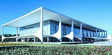 Palácio do Planalto, the official workplace of the President of Brazil.