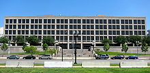 The Frances Perkins Building in Washington D.C, which serves as the headquarters of the U.S. Department of Labor.