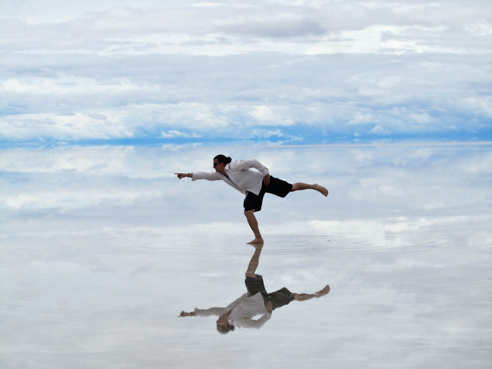 Walking on Water Bolivia