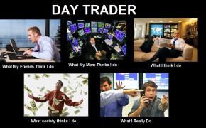 day trader, trader