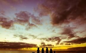 Easter Island Ahu Tahai, Easter island