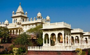 Jaswant Thada Memorial Mausoleum in Jodhpur India