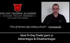 Learning How To Day Trade Part 1