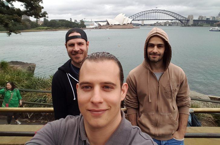 Nossa semana de treinamento militar na Austrália.