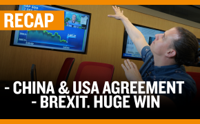 Recap December 15: China & USA Agreement - Brexit. HUGE win (Recap Ep049)