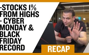 Recap December 8: Stocks 1% From Highs - Cyber Monday & Black Friday Record (Recap : Ep 048)