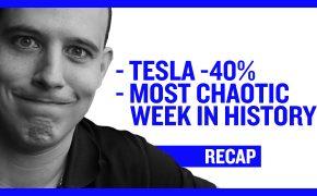 Recap March 15: Tesla Stock Down 40% - Most Chaotic week in history (Recap Ep062)