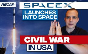Recap May 31: SpaceX launches into space - Civil War in USA (Recap Ep073)