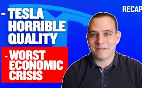 Recap June 28: Tesla Horrible Quality - Worst Economic Crisis since Great Depression (Recap Ep077)