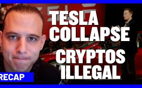 Recap September 13: Tesla stock collapses & recovers - Cryptos illegal in Europe (Recap Ep088)