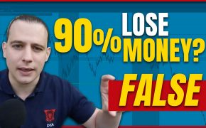 Do 90% of traders lose money? FALSE