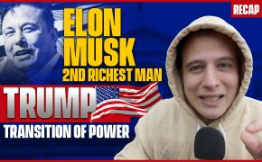 Recap November 29: Elon Musk 2nd Richest Man, Trump transition of power (Recap ep099)