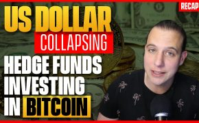 Recap January 24: US Dollar collapsing - Hedge Funds investing in Bitcoin (Recap Ep107)