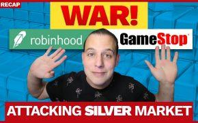 Recap January 31: WAR! Robinhood & Gamestop - Attacking Silver Market (Recap ep108)