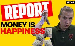 Recap July 25: Report: Money Does Bring Happiness, Extreme Weather, Volatile Stocks (Recap Ep133)