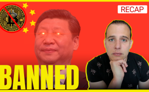 Recap September 26: China Bans Bitcoin (again), Financial Crisis Averted, Socialism in Germany (Recap Ep142)