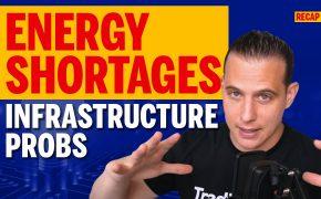 Recap October 10: Energy Shortages, infrastructure Probs (instagram), Crisis Averted in USA (Recap Ep144)